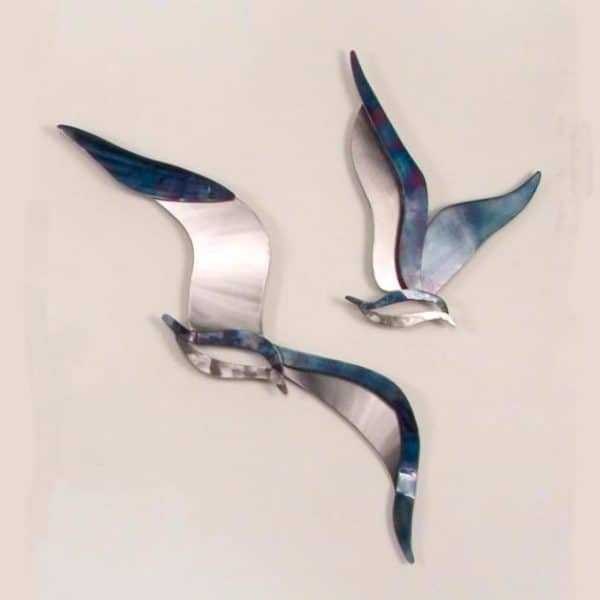 Soaring Seagulls Wall Art