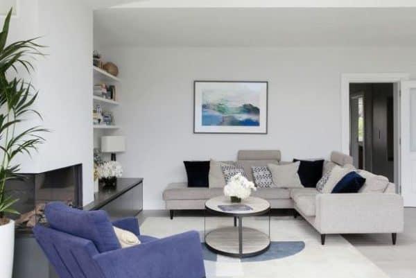 neutral coloured home