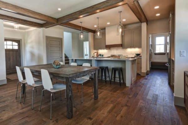 Beautiful kitchen and hardwood floor