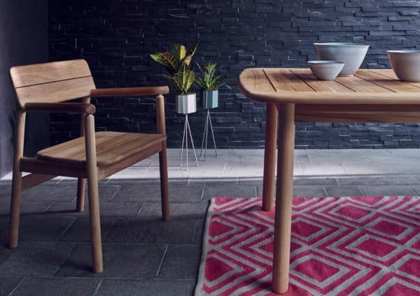 natural wood furniture in your home