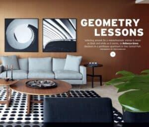 Geometry Lessons - Interior Design