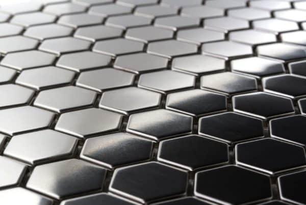 Hexagonal Steel Tiles